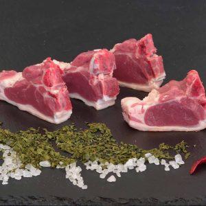 Lammkotelett aus der Fleischerei Metzker