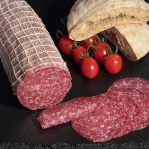 Mailänder Salami von der Fleischerei Metzker