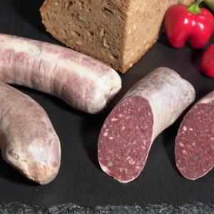 Blutwurst produziert von Fleischerei Metzker