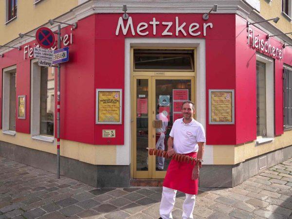 Christian Metzker mit Trüffel Käsepiccolinis