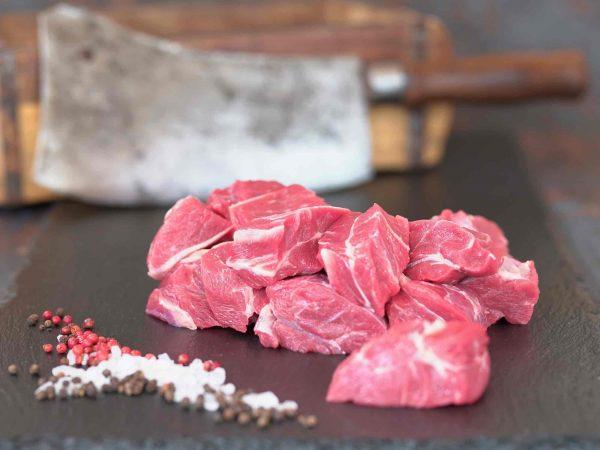 Wade geschnitten Gulaschfleisch